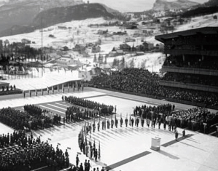 1956 - VII. WINTER GAMES CORTINA D'AMPEZZO
