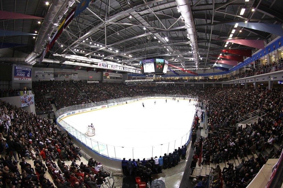 Víceúčelová aréna přes 8000 sedadel